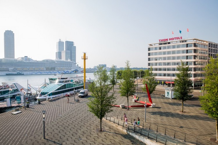 Zaal huren Thon Hotel Rotterdam in Rotterdam foto 1
